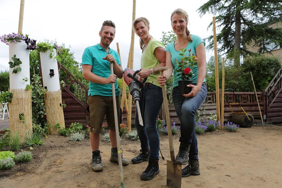 Das Team von Mission Garten