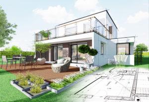 Visualisierung von Gartenplänen